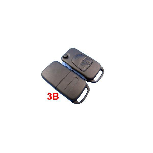 Remote Key Shell 3 Button for New Benz 5pcs/lot