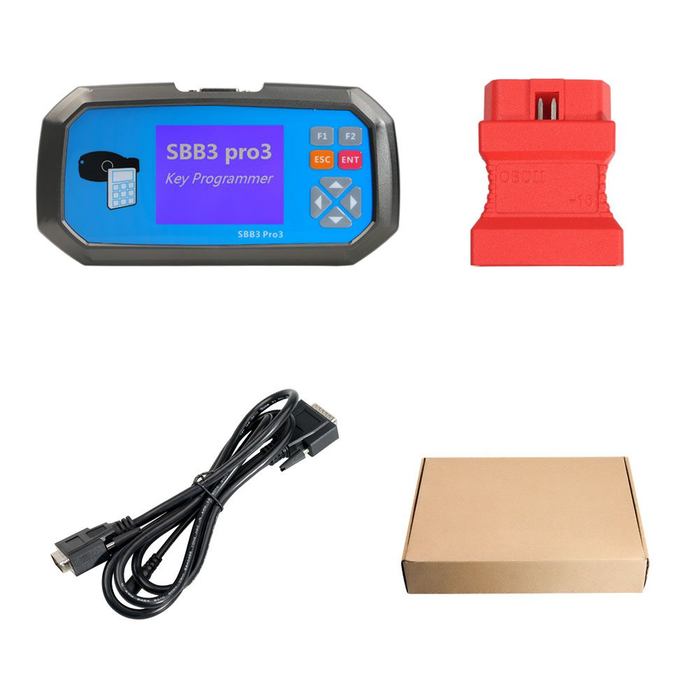 2019 New SBB3 PRO3 Key Programmer for Toyota G/H Chip with Immobilizer,  Odometer, ECU Reset Function Same as OBDSTAR X300 PRO3