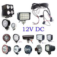 Spot/Flood LED/HID Work Driving light Wiring Loom Harness 12V 40A Switch Relay Driving Light off road spotlights for JEEP SUV