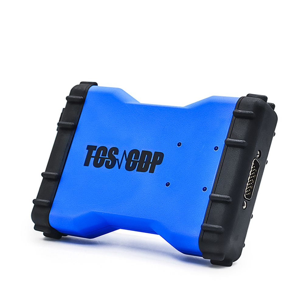 Latest Version 2016R1 TCS CDP Car and Truck Diagnostic Tool with Bluetooth