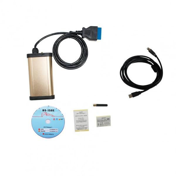 Promotion Top quality TCS Multidiag CDP Plus 3 in 1 with OKI Chip and Bluetooth better support BMW and Ford Cars