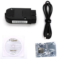 Real HEX-V2 HEX V2 Dual K & CAN USB VAG Car Diagnostic interface English Version