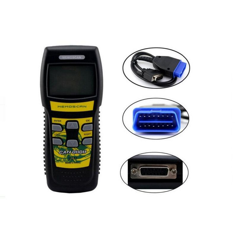 Original Memoscan U581 OBD2 Code Reader Auto OBDII Car Diagnostic Scanner  MINI U581 Can Bus Scan Tool
