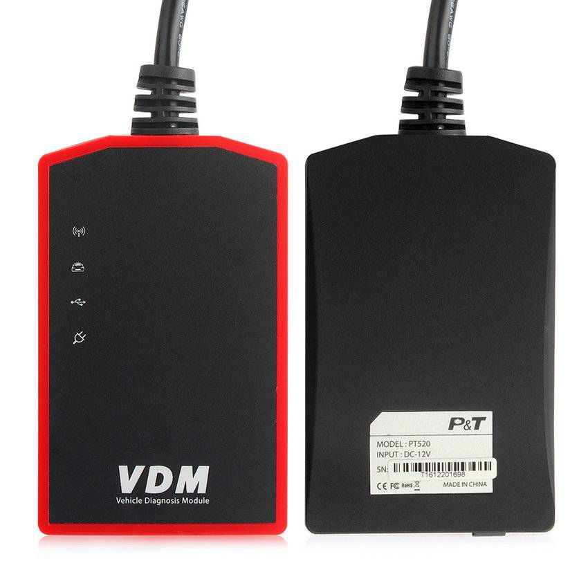 VDM UCANDAS Wireless Automotive Diagnosis System