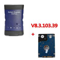 2017.02 WIFI GM MDI Multiple Diagnostic Interface with V8.3.103.39 GDS2 Tech 2 Win Software Sata HDD for Vauxhall Opel Buick and Chevrolet