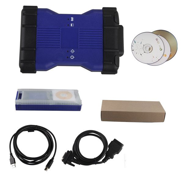 Newest Arrival V141 VCM II for LandRover/Jaguar Diagnose and Programming Tool Blue Color