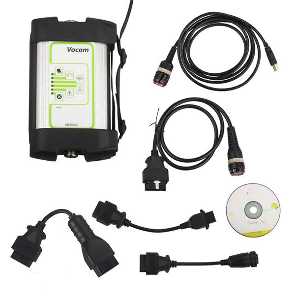 Volvo 88890300 Vocom Interface Plus PTT 2.5.75 (FH4-FM4) (With APCI+ Update) Heavy Duty Scanner and Dev2tool Programming Software