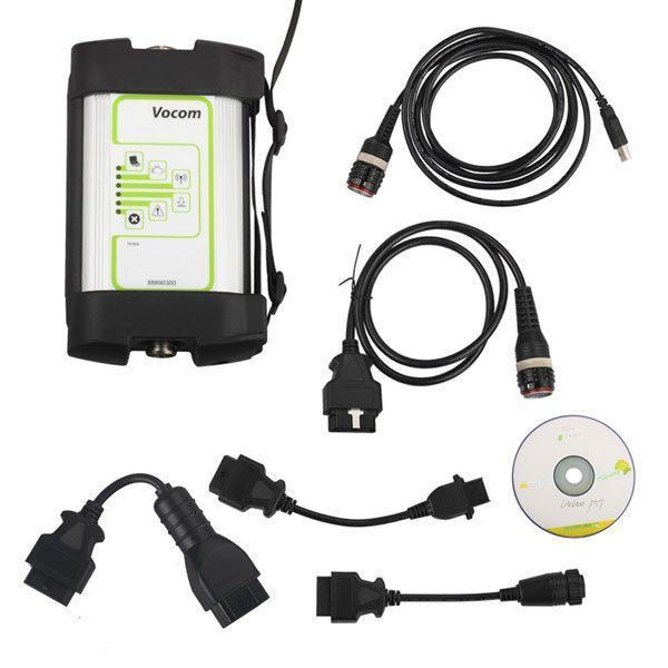 Volvo 88890300 Vocom Interface for Volvo/Renault/UD/Mack Truck Diagnose Round Interface