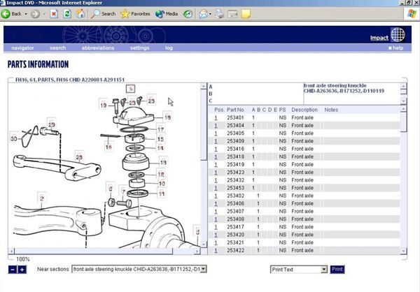 New Lorries & Buses 2012 Spare Parts Catalog for Volvo with Multi-Language