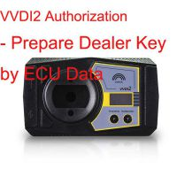 VVDI2 Authorization - Prepare Dealer Key by Ecu Data/V-A-G Copy 48 Transponder by OBDII