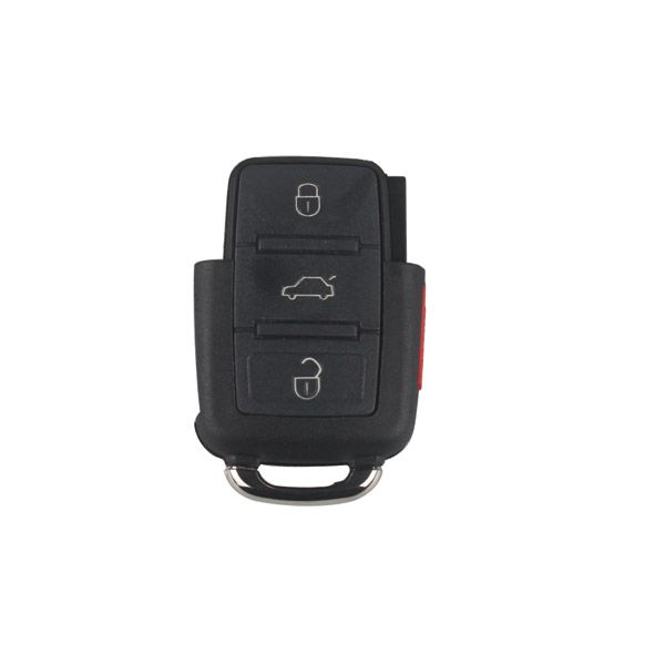 Remote Shell (3+1)Button for VW 10pcs/lot
