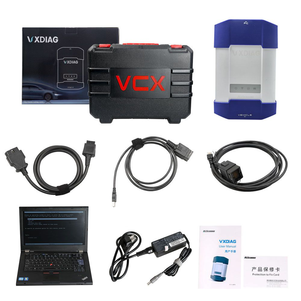 VXDIAG Multi Diagnostic Tool for Full Brands including HONDA / GM / VW / FORD / MAZDA / TOYOTA / PIWIS / Subaru / VOLVO / BMW / BENZ only Machine