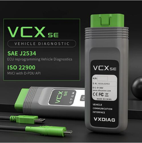 VXDIAG VCX SE for BMW Diagnostic and Programming Tool with Software HDD Support Online Coding