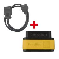 Original Launch EasyDiag OBD2 Code Reader Plus OBD2 16Pin Male to Female Extension Cable