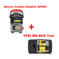 Xhorse Condor Dolphin XP005 Automatic Key Cutting Machine Plus VVDI MB Tool with 1 Free Token Everyday