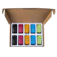 XHORSE VVDI2 Volkswagen B5 Special Remote Key 3 Buttons 10pcs/lot (Black, Red, Yellow, Blue and Green)