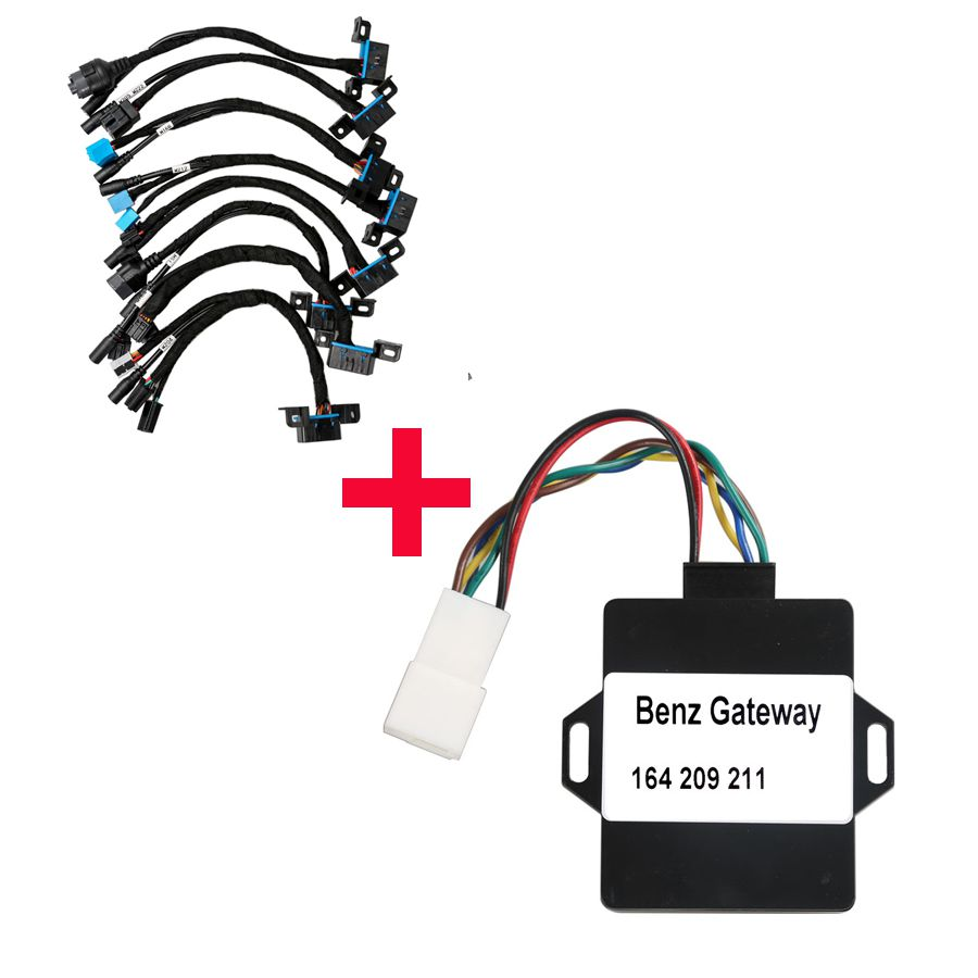 Xhorse W164 Gateway Adapter Plus EIS/ELV Test Line for Mercedes
