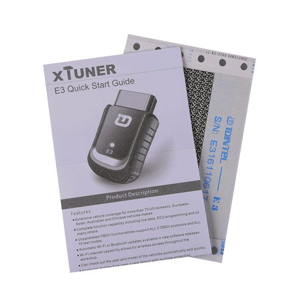 XTUNER E3 OBD2 Scanner Wireless OBDII Diagnostic Tool Pefectly Replaces  VPECKER Easydiag V8 1 Supports WIN10