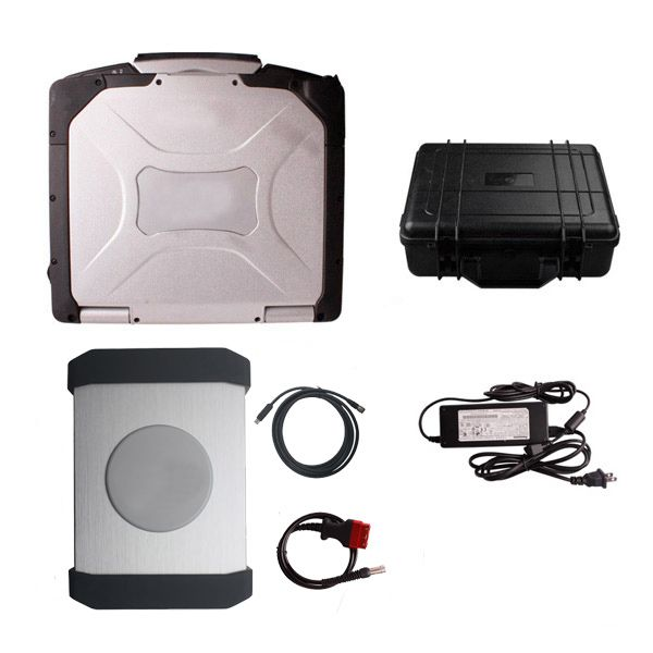 YANHUA PIWS2 Tester II Diagnostic Tool With Latest Software PIWSII V15.35 and CF30 Second Hand Laptop