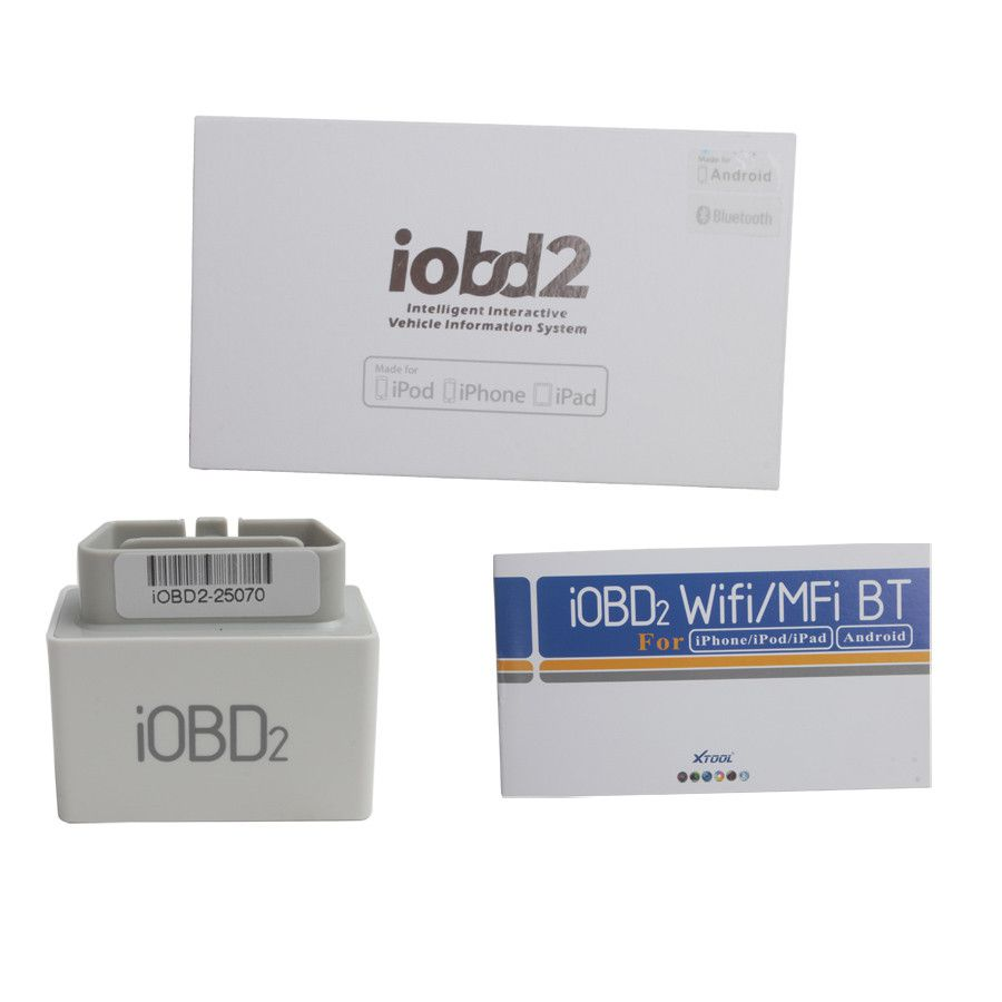 iOBD2 Bluetooth OBD2 EOBD Auto Scanner for iPhone/Android