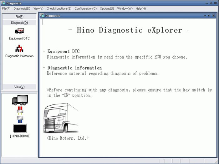 all scanner hino software