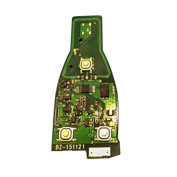 Smart Key 3 Button 433MHZ for Benz (2005-2008) with Two Batteries PCB 1