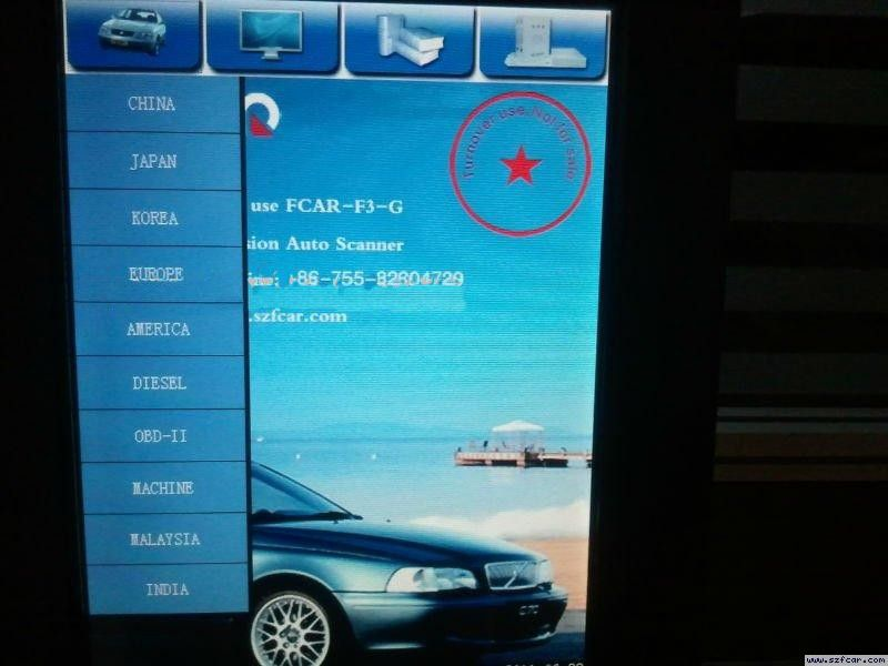 fcar f3-g auto diagnostic scanner software