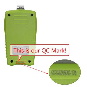 JDiag JD101 OBD2 scanner QC Mark