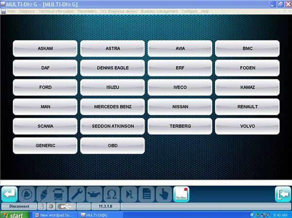 MULTI-DIAG Bluetooth TRCUK Diagnostic tool- obd365-1