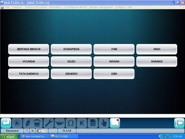 MULTI-DIAG Bluetooth TRCUK Diagnostic tool -obd365-15