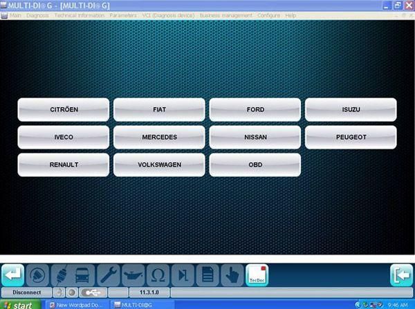 MULTI-DIAG Bluetooth TRCUK Diagnostic tool -obd365-4