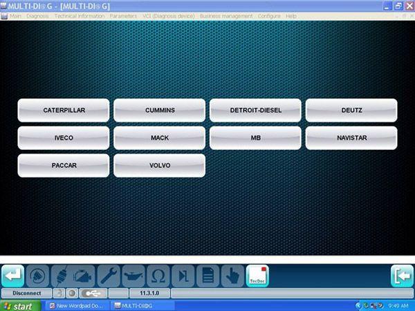 MULTI-DIAG Bluetooth TRCUK Diagnostic tool -obd365-7