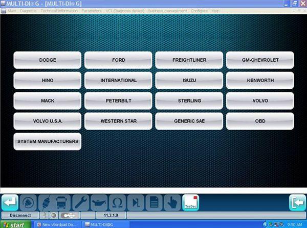 MULTI-DIAG Bluetooth TRCUK Diagnostic tool -obd365-8