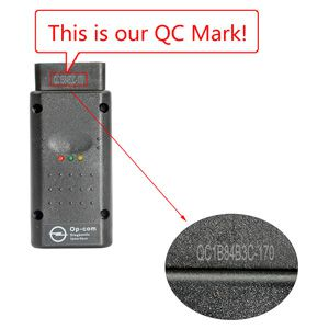 OP-Com 2012 V Can OBD2 QC MARK