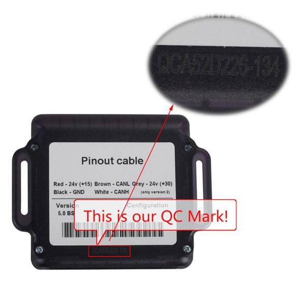 Truck Ad-blue-obd2 Emulator 8-in-1 QC Mark