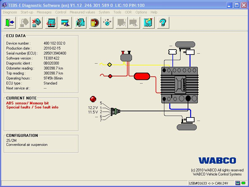 WABCO DIAGNOSTIC KIT Software-1