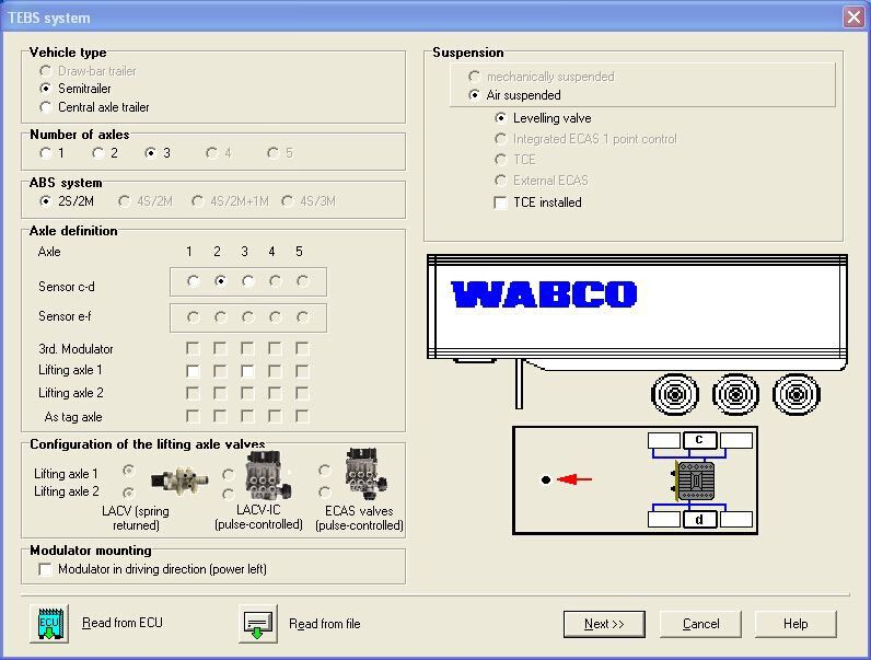 WABCO DIAGNOSTIC KIT Software-2