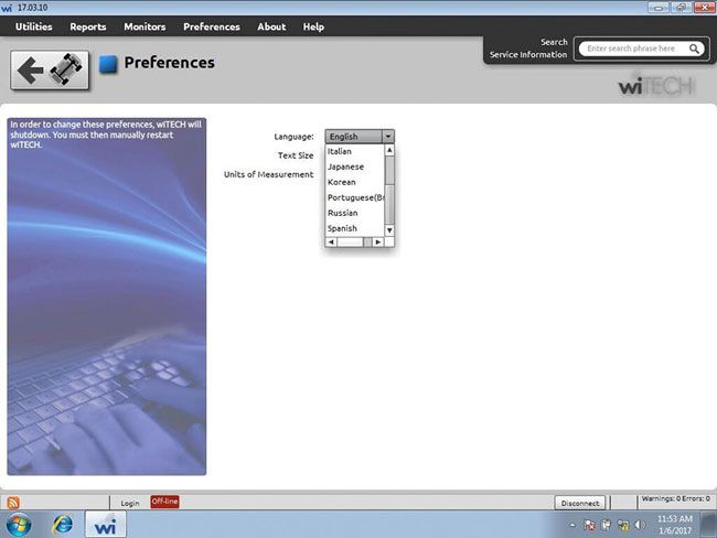 V17 04 27 wiTech MicroPod 2 for Chrysler Diagnosis